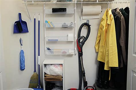 Top 10 Tips To Keep Your Cleaning Closet Organized
