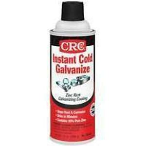 new lot of 2 13oz cans crc instant cold galvanize zinc spray paint coating ebay