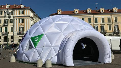 Geodesic Dome in Fabric: a sustainable and eco friendly ...