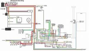Chevrolet Suburban 1975 Electrical Wiring Diagram