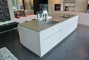 meuble de cuisine avec evier inox evier en inox table de With marvelous photo de meuble de cuisine 12 evier 1 bac avec meuble