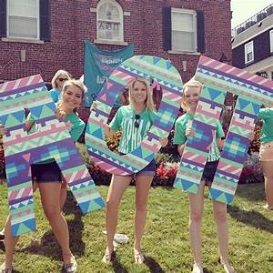 17 best images about sorority wooden letters on pinterest With aoii wooden letters