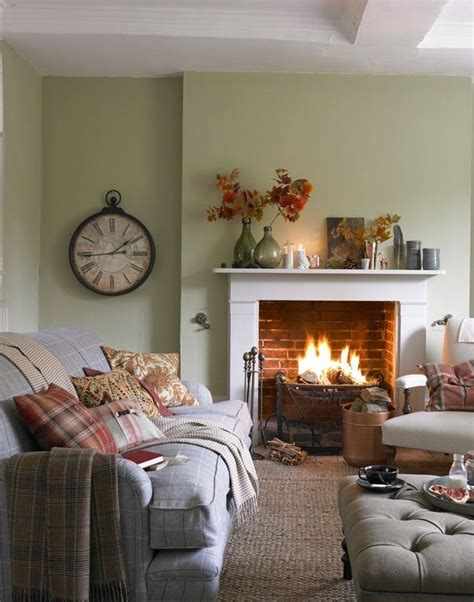 Country Living Room Clocks by Compact Country Living Room With Open Living Room