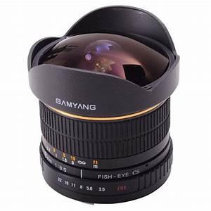 Samyang 8mm F  3 5 Umc Fisheye Cs Ii Lens  Canon Ef