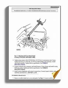 Mazda Mx5 Miata 1990 1994 Transmission Service Repair Manual
