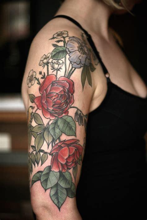 tatuaggi dei fiori i bellissimi tatuaggi di fiori e piante di carrier