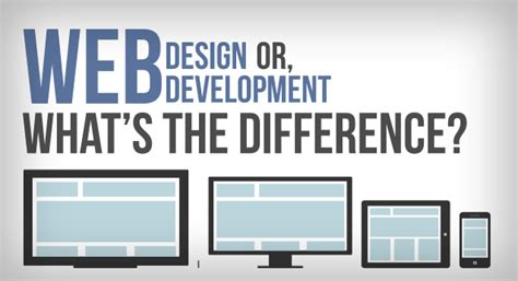 web design and development web design or web development what s the difference