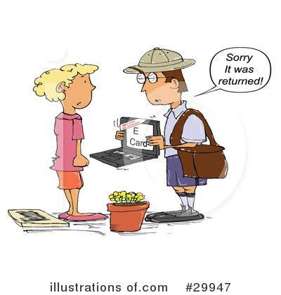 email clipart  illustration  spanky art
