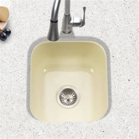 bar sinks at menards porcelain enameled steel undermount square bar sink at
