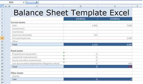excel balance sheet template costumepartyrun