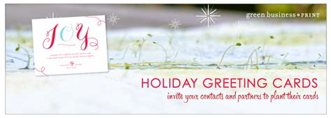 seeded business christmas cards  plantable corporate