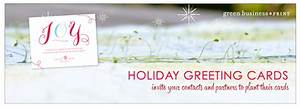 seeded business christmas cards and plantable corporate holiday cards from green business print With small business greeting cards