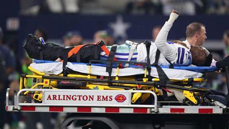 nfl playoffs  cowboys wr allen hurns ankle