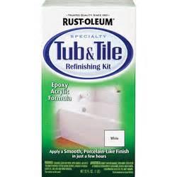 rustoleum tub refinish rust oleum tub tile refinishing kit acrylic 32 oz