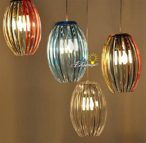modern simple multi color pendant lighting contemporary