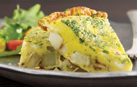 Would you like more mashed potatoes? Spanish Potato Frittata - MountainKing Potatoes