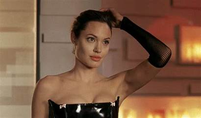 Angelina Down Hair Jolie Gifs There Secret