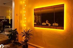 Led Bild Selber Machen : 1 x5m foto auf leinwand mit led beleuchtung foto bild architektur innenaufnahmen ~ Bigdaddyawards.com Haus und Dekorationen