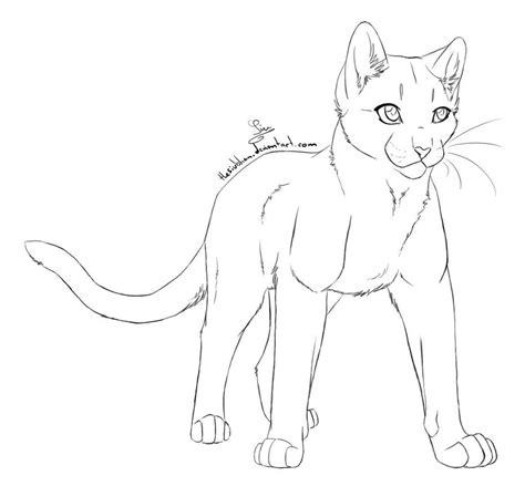 cat outline female  thesiubhan  deviantart