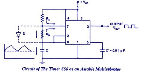Timer Astable Multivibrator Projects Try