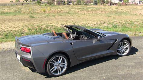 chevy corvette stingray convertible