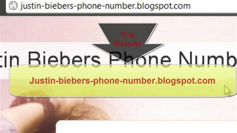 phone number to justin bieber phone number to call him for real