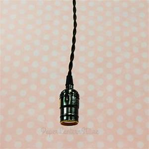 Bulk pack single pearl black socket pendant light