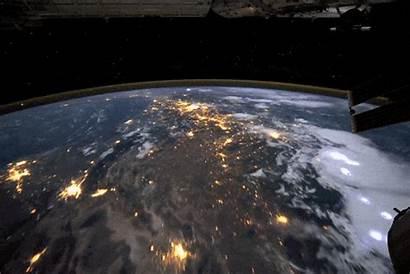 Bumi Planet Biru Ekogeo Satelit Dari