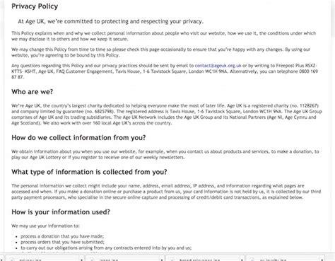 gdpr   create  practice privacy notices