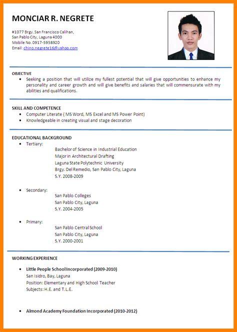 resume template malaysia resume ixiplay free