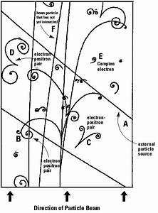 Bubble Chamber Particle Tracks Diagram