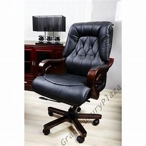 Fauteuil Cuir Bureau : confortable fauteuil pivotant de bureau en cuir makler grand luxury plaza ~ Teatrodelosmanantiales.com Idées de Décoration