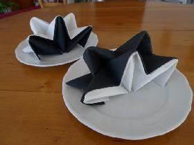 Pliage De Serviette En Etoile : pliage serviette fete pologne ~ Melissatoandfro.com Idées de Décoration