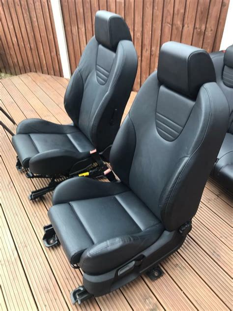 ford focus st mk leather seats  ripley derbyshire