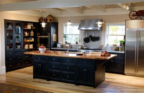 black kitchen cabinet ideas pictures of kitchens traditional black kitchen cabinets