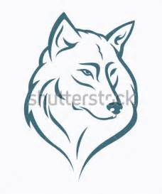 Wolf Pumpkin Designs by Wolf Kopf Vektor Illustration Stock Vektorgrafik Clipart Me
