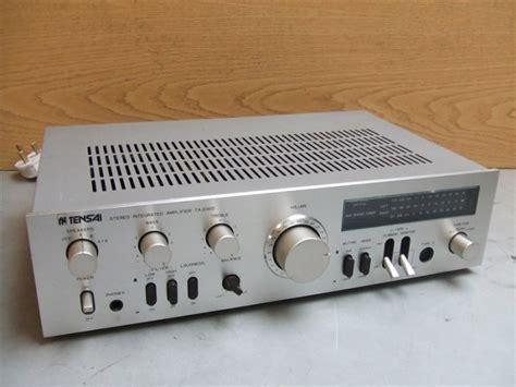 Tensai Ta 2350 Vintage Hi Fi Home Audio Stereo Integrated