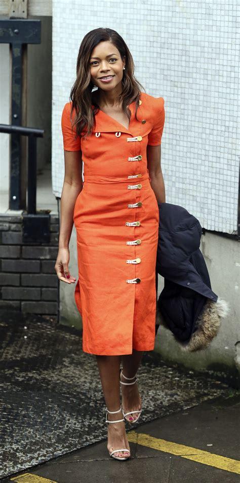naomie harris style naomie harris style itv studios in london 2 22 2016