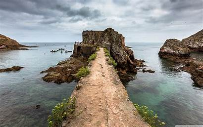 Portugal Fort Berlenga Island Grande Desktop Wallpapers