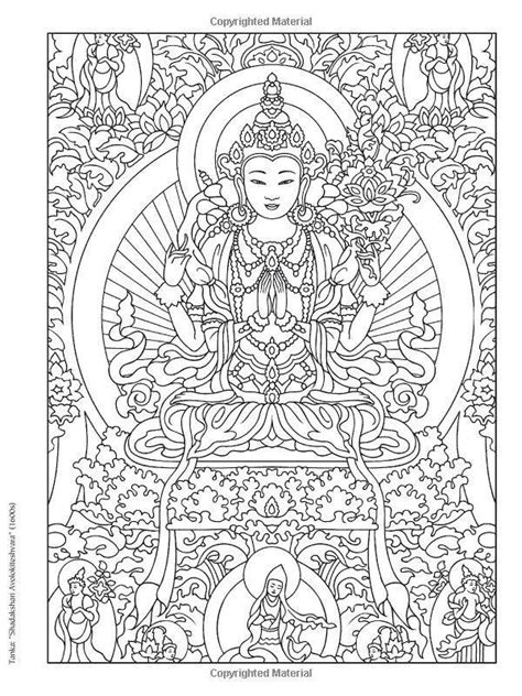buddha coloring books coloring pages adult coloring
