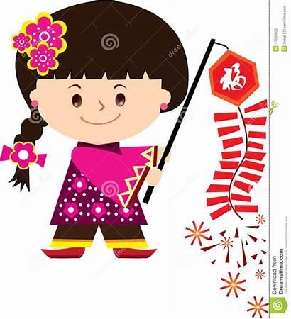 Chinese Clip Clipart Lunar Celebration Fire Cracker