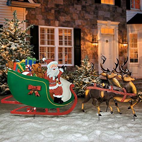 santa claus yard stakes christmas wikii
