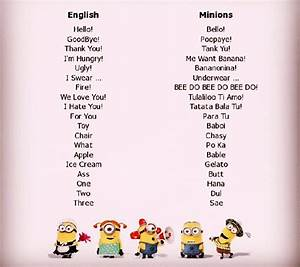 How Are You Feeling Emoji Chart Minion Sprache Wer Kann Sie Image By Deleted