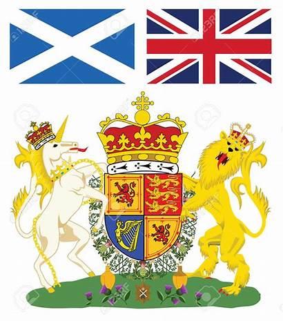 Scotland Emblem Clipart Unicorn Royal Scottish Arms