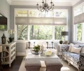 Hampton Bay Floor Lamps by Gray Blue Paint Colors Cottage Living Room Benjamin