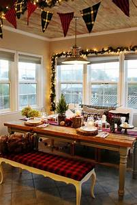decoration noel de la cuisine un decor elegant pour les fetes With idee deco cuisine avec pinterest deco noel