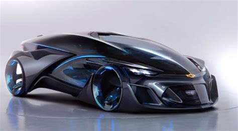 Electric Car Technology by Future Technology Concept The Electric Car Chevrolet Fnr
