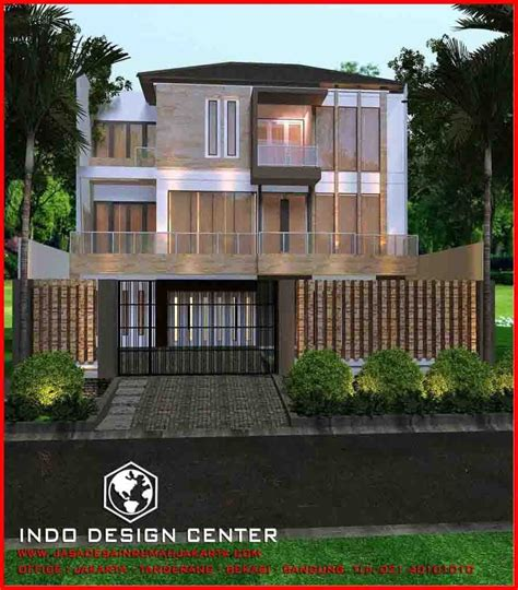 desain rumah minimalis pak tomi bandung jasa desain