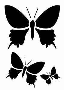 modele pochoir gratuit imprimer papillon pictures With pochoir a peindre gratuit
