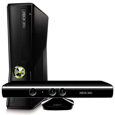 xbox 360 console with kinect xbox 360 slim 250 gb kinect sensor kinect sports